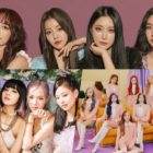 April Girl Group Brand Reputation Rankings Announced