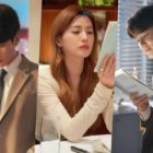 "Lee Min Ki, Nana, And Kang Min Hyuk Diligently Study Their Scripts On Set Of ""Oh My Ladylord"""