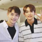 SHINee's Minho And NCT's Lucas Share Adorable Exchange Joking About Their Resemblance