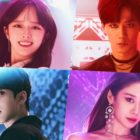 "U-KISS's Lee Jun Young, Jung Ji So, ATEEZ's Yunho, And T-ara's Jiyeon Are Ready For The Spotlight In ""Imitation"" Poster"
