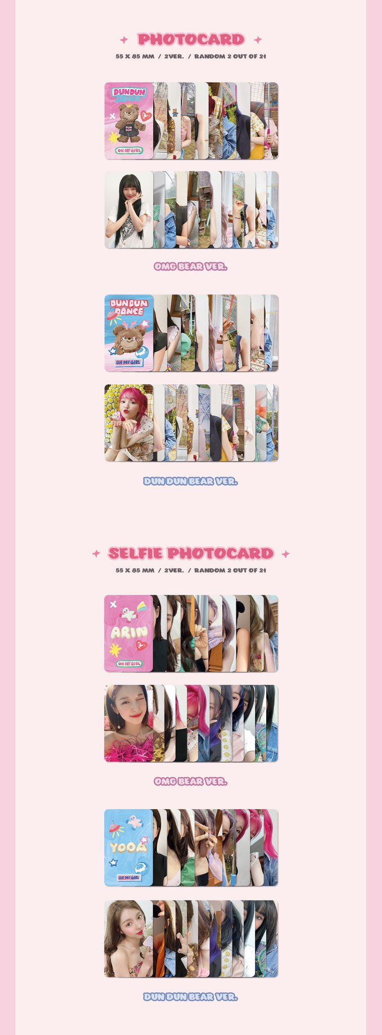 Oh My Girl Packaging Preview 2