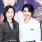 """Lee Bo Young And Kim Seo Hyung Talk About Playing Strong Female Characters In """"Mine"""""""