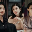 "Lee Bo Young Faces Off With Ok Ja Yeon As Kim Seo Hyung Grows Pensive In ""Mine"""