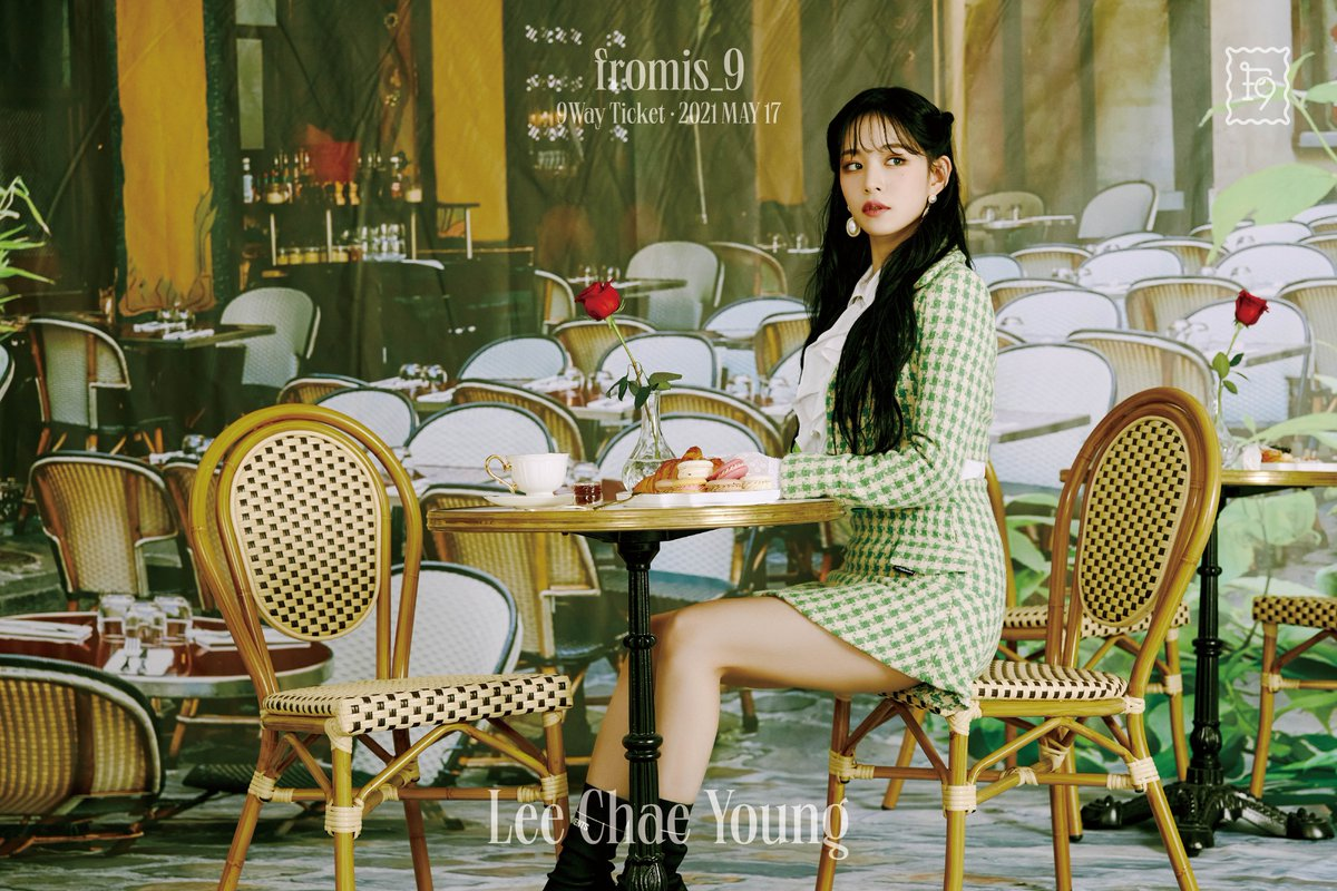 fromis 9 lee chae young