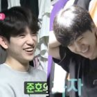"""Watch: GOT7's Jinyoung Helps 2PM's Junho Clean His Messy Closet In """"Home Alone"""" (""""I Live Alone"""") Preview"""