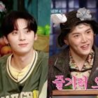 """Watch: NU'EST's Minhyun And Ren Steal SHINee's Key's And Girls' Generation's Taeyeon's Hearts In """"Amazing Saturday"""" Preview"""