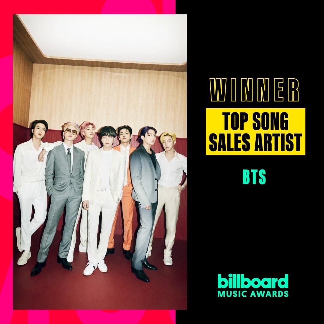 BTS BBMAs Top Song Sales Artist