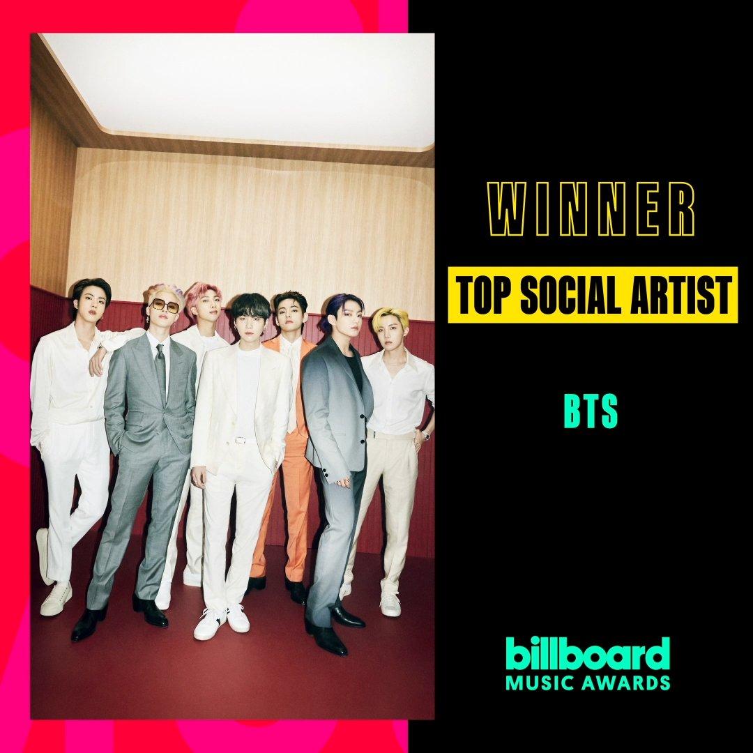 BTS BBMAs Top Social Artist