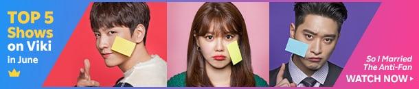 soompi top 5 on viki june anti fan