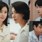 """Lee Bo Young Shares A Mysterious Smile At A Tense Chaebol Family Dinner In """"Mine"""""""
