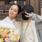 Update: BLACKPINK's Rosé Surprises Girl's Day's Hyeri On Set Of Upcoming Historical Drama