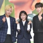 """Park Ji Hoon And Kang Min Ah Talk About Starring In First Public Broadcast Drama In """"At A Distance Spring Is Green"""""""