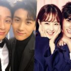 Park Hyung Sik Shows Love For Park Seo Joon And Park Bo Young On Set Of Their New Film