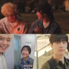 """Watch: Kang Min Ah, Park Ji Hoon, And Bae In Hyuk Playfully Support Each Other On Set Of """"At A Distance Spring Is Green"""""""