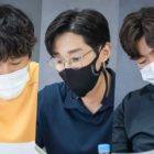 Cha Tae Hyun, B1A4's Jinyoung, Lee Jong Hyuk, And More Gather For Police Drama Script Reading
