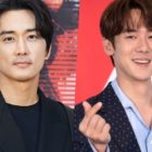 """Song Seung Heon Thanks Yoo Yeon Seok For Sending Support To Set Of """"Voice 4"""""""