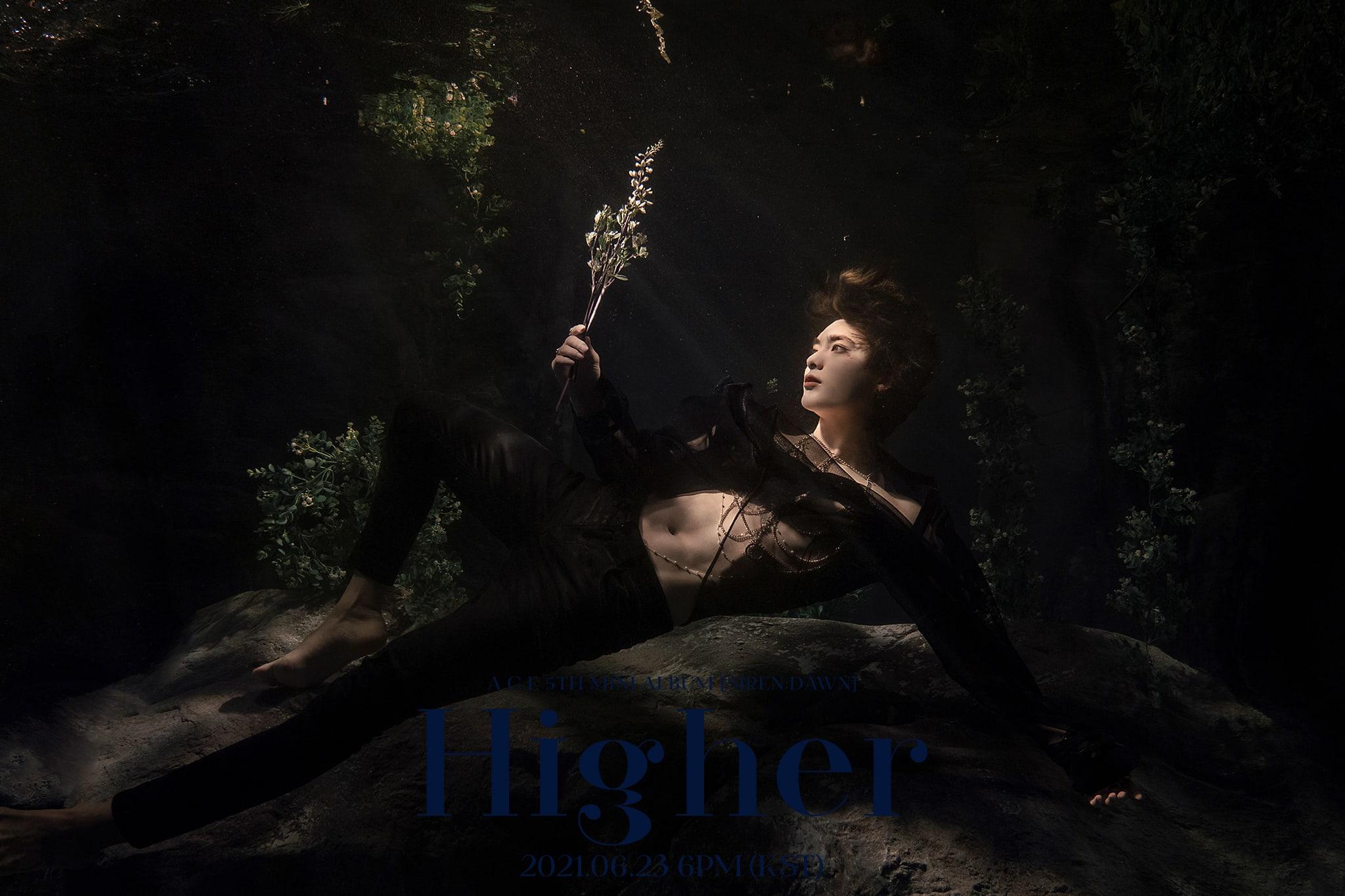 "Watch: A.C.E Reaches ""Higher"" In Aesthetic Pre-Released Comeback MV | Soompi"