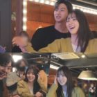 """Watch: Song Kang And Han So Hee Can't Stop Laughing While Bonding Over A Game Of Darts On Set Of """"Nevertheless"""""""
