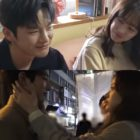 """Watch: Park Bo Young, Seo In Guk, Lee Soo Hyuk, And Shin Do Hyun Have Sweet Chemistry On Set Of """"Doom At Your Service"""""""