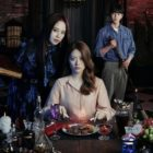 """""""The Witch's Diner"""" Starring Song Ji Hyo, Nam Ji Hyun, And Chae Jong Hyeop Unveils Mysterious And Eerie Main Poster"""