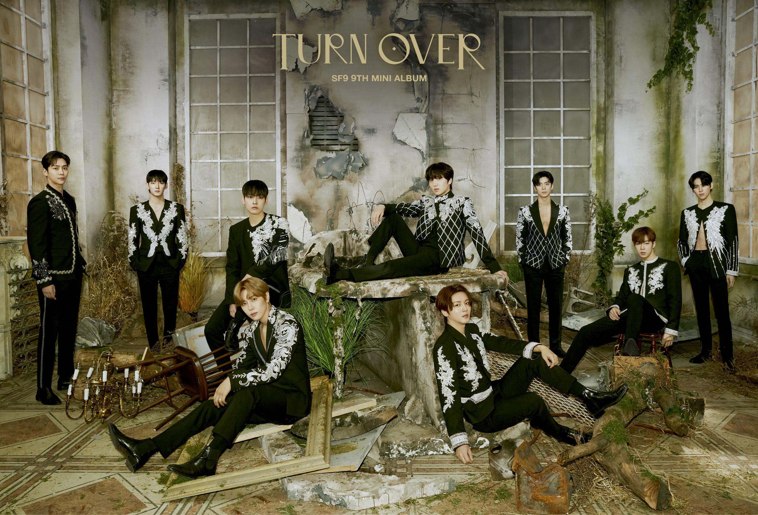 SF9 9th mini album TURN OVER