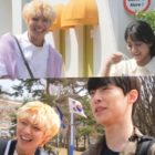 """Watch: Park Ji Hoon, Kang Min Ah, And Bae In Hyuk Playfully Tease Each Other On Set Of """"At A Distance Spring Is Green"""""""