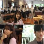 """Watch: Park Bo Young Enjoys Being In A Love Triangle With Seo In Guk And Nam Da Reum On Set Of """"Doom At Your Service"""""""