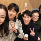 """Honey Lee And """"Extreme Job"""" Cast Show Love For Lee Dong Hwi's MSG Wannabe Debut"""