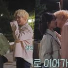 """Watch: Kang Min Ah And Park Ji Hoon Are Both Playful And Professional During Kiss Scene For """"At A Distance Spring Is Green"""""""