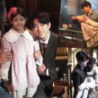 """Watch: Ji Sung And GOT7's Jinyoung Sweetly Take Care Of The Child Actress On Set Of """"The Devil Judge"""""""