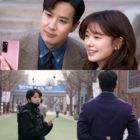 """Kim Ji Suk And Jung So Min Try To Keep Their Office Romance A Secret In """"Monthly Magazine Home"""""""
