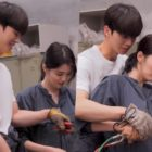 """Watch: Song Kang And Han So Hee Flaunt Their Teamwork Behind The Scenes Of """"Nevertheless"""""""