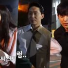"""Watch: Lee Ji Ah, Uhm Ki Joon, And Kim Young Dae Show Their Passion For Action Scenes In """"The Penthouse 3"""""""