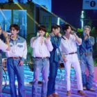 """Watch: BTS Makes 1st-Ever Appearance On BBC Radio 1's """"Live Lounge"""" + Covers Puff Daddy, Faith Evans, And Sting"""