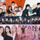 BTS, TXT, BLACKPINK, SEVENTEEN, And TWICE Claim Top Spots On Billboard's World Albums Chart