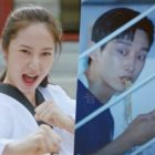 """Watch: Krystal And Jinyoung Welcome You To """"Police University"""" In Wacky New Teaser"""