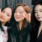 """""""Parasite"""" Star Park So Dam Shows Love For Apink's Son Naeun And Jeon Do Yeon On Set Of Their New Drama"""