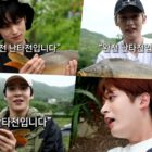 """Watch: Lee Know, Yunho, Juyeon, Ha Sung Woon, Kim Woo Seok, Jaehyo, And Park Woo Jin Appear In Dramatic Preview Of """"City Angler"""""""