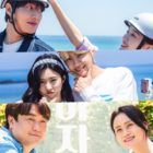 """Girl's Day's Minah, Kwon Hwa Woon, And More Pose As Sweet Couples For """"Check Out The Event"""""""