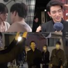 """Watch: GOT7's Jinyoung Is Full Of Ideas While Filming Kiss Scene With Park Gyu Young In """"The Devil Judge"""""""