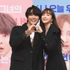"""Yoon Shi Yoon And Hani Talk About The Unusual Subject Matter Of """"You Raise Me Up"""" In Press Conference"""