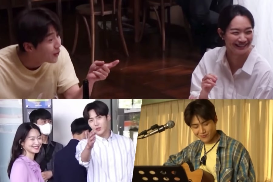 """Watch: Shin Min Ah And Kim Seon Ho Impress With Their Natural Acting Despite Their Laughter In """"Hometown Cha-Cha-Cha"""""""