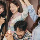 Lee Sun Bin, Han Sun Hwa, Jung Eun Ji, And Choi Siwon Are Dedicated Drinkers In New Drama Posters