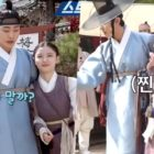"""Watch: Ahn Hyo Seop And Kim Yoo Jung Are Busy Brainstorming Ideas On Set Of """"Lovers Of The Red Sky"""""""