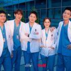 "Jo Jung Suk, Jeon Mi Do, Yoo Yeon Seok, Jung Kyung Ho, And Kim Dae Myung Say Goodbye To ""Hospital Playlist 2"""