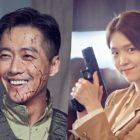 """Namgoong Min, Park Ha Sun, And Kim Ji Eun Get Playful Behind The Scenes Of New Spy Drama """"The Veil"""""""