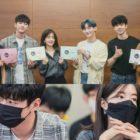 Lee Jun Young, Jung In Sun, Yoon Ji Sung, JR, Kim Dong Hyun, And More Gather For Drama Script Reading