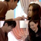 """Watch: Honey Lee And Song Won Seok Showcase Amazing Chemistry On Set Of """"One The Woman"""""""