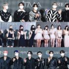 Celebrities Walk The Red Carpet At 2021 The Fact Music Awards