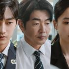 """Jinyoung, Lee Jong Hyuk, And More Are Swamped With Complicated Emotions In """"Police University"""""""